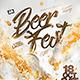 Beer Festival Flyer - GraphicRiver Item for Sale