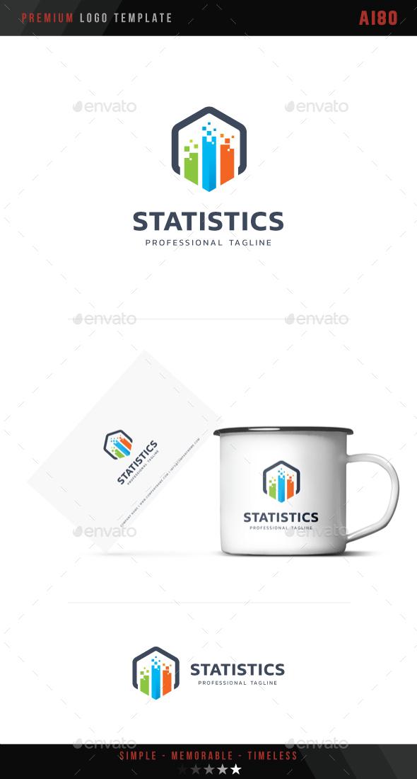 Statistics Logo - Abstract Logo Templates