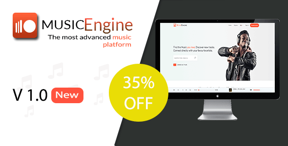MusicEngine - Social Music Sharing Platform            Nulled