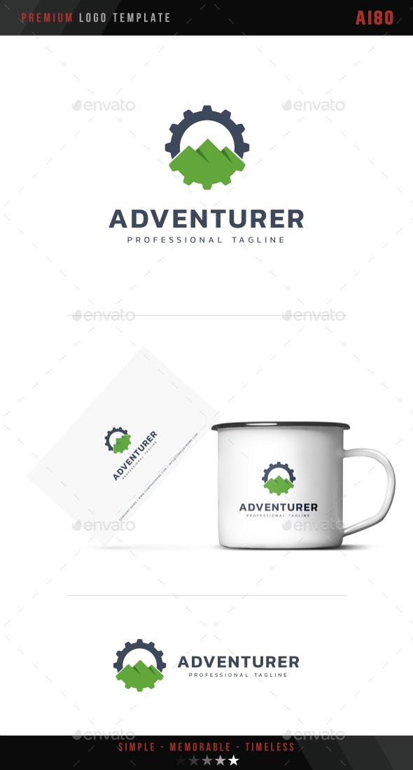 Adventurer Logo - Symbols Logo Templates
