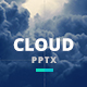 Cloud Power Point Presentation Template - GraphicRiver Item for Sale