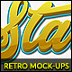 10 Retro Mock-Ups vol. 01 - GraphicRiver Item for Sale