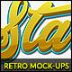 10 Retro Mock-Ups vol. 01 - GraphicRiver Item for Sale