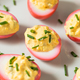 Homemade Pink Pickled Deviled Eggs - PhotoDune Item for Sale