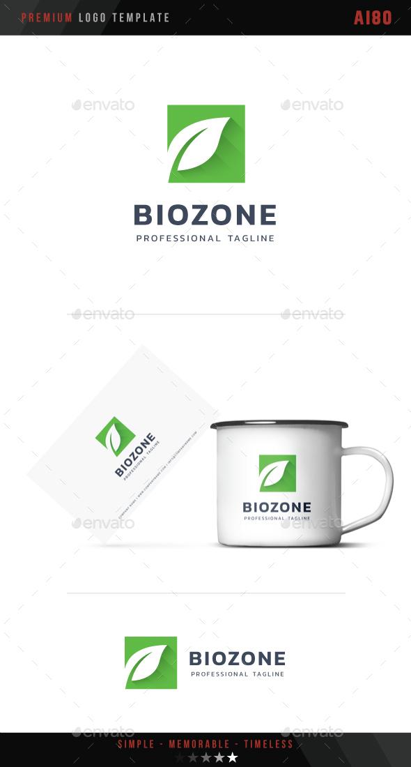 Bio Zone Logo - Nature Logo Templates