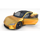 Tesla Roadster Yellow with Interior - 3DOcean Item for Sale