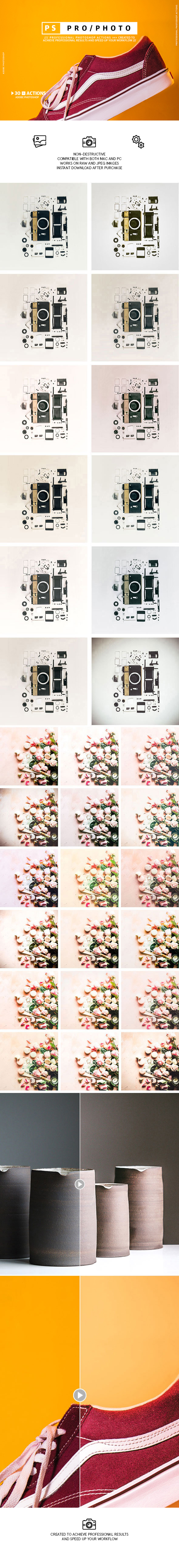 Product Photography Presets - Photo Effects Actions