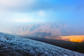 Fantastic autumn landscape with frost - PhotoDune Item for Sale