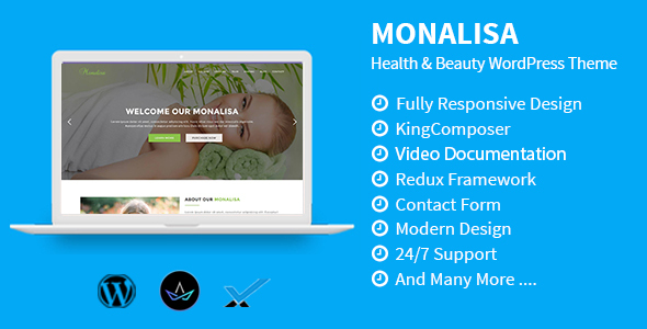 Monalisa - Health & Beauty WordPress Theme