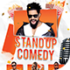 Stand Up Comedy Flyer Template - GraphicRiver Item for Sale