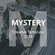 Mystery Creative Keynote Template - GraphicRiver Item for Sale