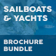 Sailboats and Luxury Yachts Print Bundle - GraphicRiver Item for Sale