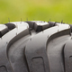 Pattern of black tyre of vehicle or agricultural machine, technology - PhotoDune Item for Sale
