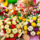 Flowers with decoration made of ears of wheat or rye - PhotoDune Item for Sale