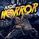 Horror Night Halloween Party Flyer - GraphicRiver Item for Sale
