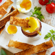 Soft-boiled egg with toasts - PhotoDune Item for Sale