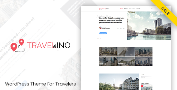 Travelino - WordPress Travel Theme