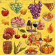 Thanksgiving Watercolor - GraphicRiver Item for Sale
