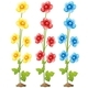 Flowers In Three Colors - GraphicRiver Item for Sale