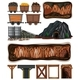 A Set Of Mining Element - GraphicRiver Item for Sale
