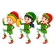 Christmas Theme With Kids Dressed Up In Elf - GraphicRiver Item for Sale