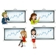 Business People Presenting Graphs - GraphicRiver Item for Sale