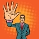 Man High-Five Gesture - GraphicRiver Item for Sale