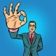 Man OK Gesture - GraphicRiver Item for Sale