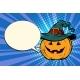 Pumpkin Halloween Comic Bubble - GraphicRiver Item for Sale