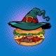 Halloween Burger Fast Food Holiday