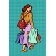 Woman Goes Shopping - GraphicRiver Item for Sale
