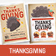 Thanksgiving Poster / Flyer - GraphicRiver Item for Sale