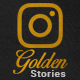 Golden Stories // Animated Stories for Instagram - VideoHive Item for Sale