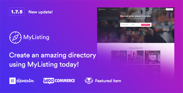 MyListing - Directory & Listing WordPress Theme - Directory & Listings Corporate