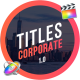 Corporate Titles | FCPX or Apple Motion - VideoHive Item for Sale
