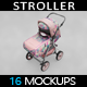 Stroller Mockup - GraphicRiver Item for Sale