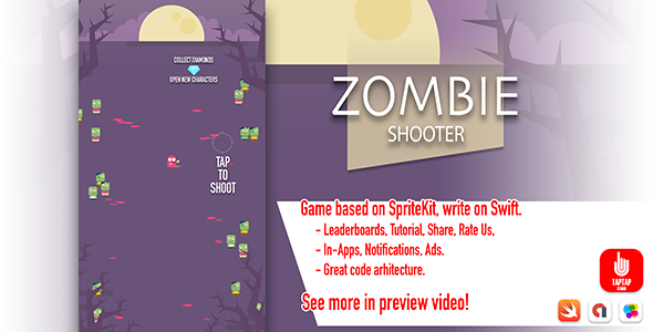 Zombie Shooter - CodeCanyon Item for Sale