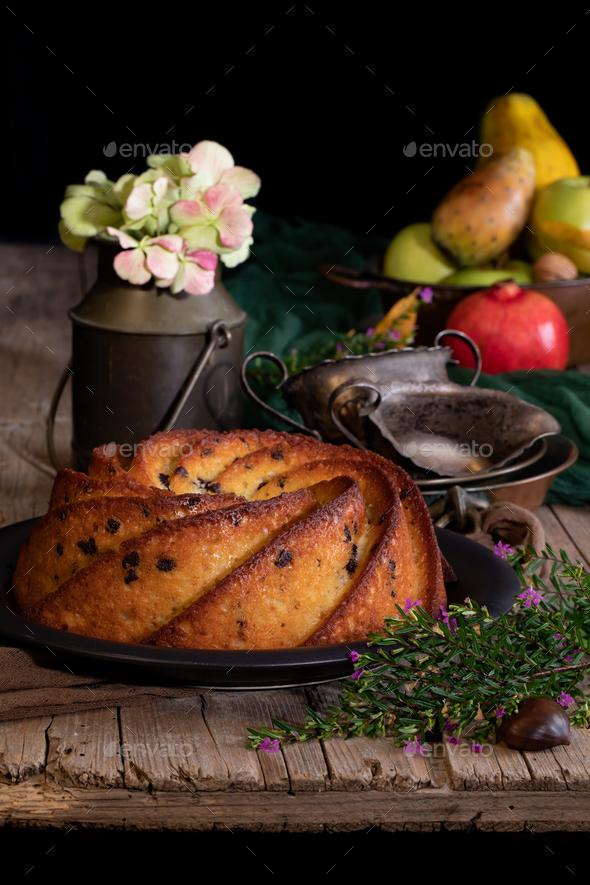 Bundt Cake - Stock Photo - Images