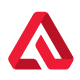 Letter A - Aerolith Logo