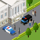 Law Justice Isometric Composition - GraphicRiver Item for Sale