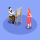 Street Artist Isometric Composition - GraphicRiver Item for Sale