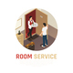 Hotel Service Isometric Composition