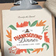Thanksgiving Menu Template - GraphicRiver Item for Sale