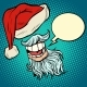 Santa Claus Beard and Hat - GraphicRiver Item for Sale
