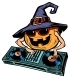 Halloween Pumpkin DJ Character - GraphicRiver Item for Sale