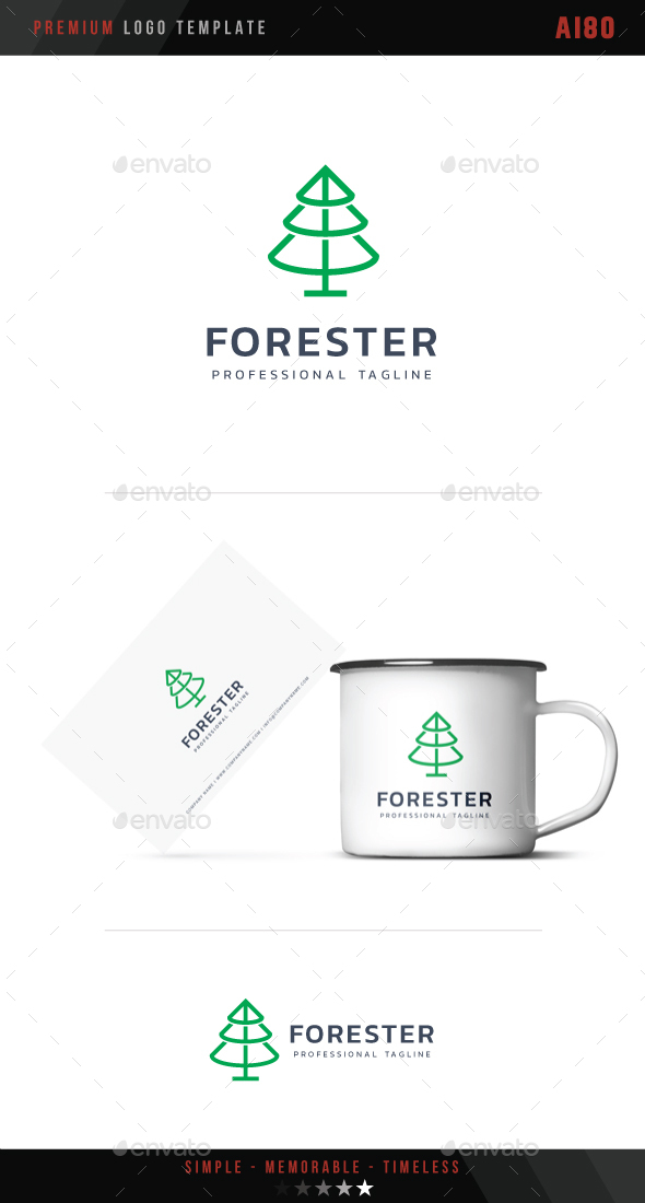 Forester Logo - Nature Logo Templates