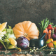 Assortment of various Autumn vegetables from local market, copy space - PhotoDune Item for Sale