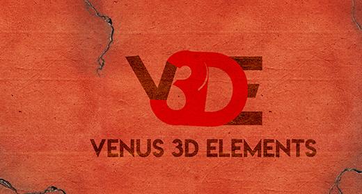 Venus 3D Elements
