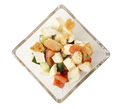 Delicious vegetable salad with tofu cheese. - PhotoDune Item for Sale