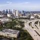 Aerial View Over Interstate Highway Leading to Downtown Tampa Fl - PhotoDune Item for Sale